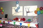 Mesa dulce multicolor