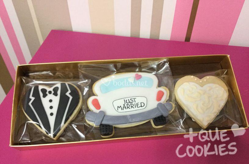Set cookies boda