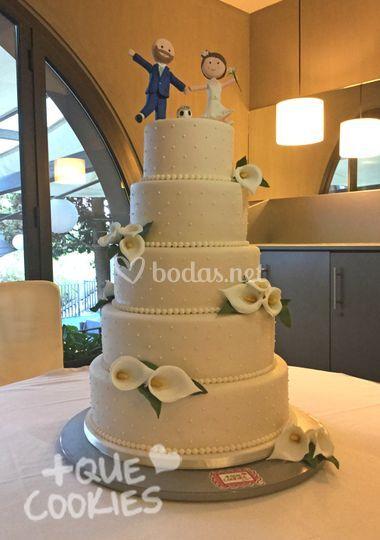 Cake calas El Castell