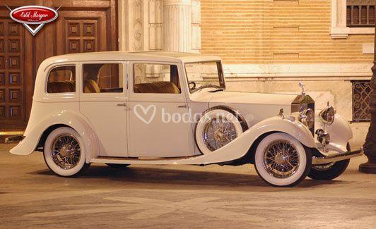 Rolls Royce de 1.936 modelo 20/25 (marfil)