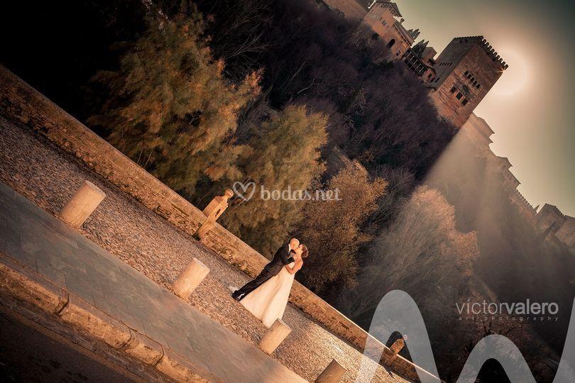 Amanecer en Granada