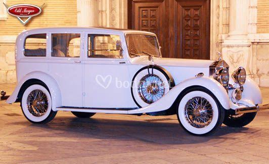 Rolls Royce de 1.937 modelo 25/30 (blanco)