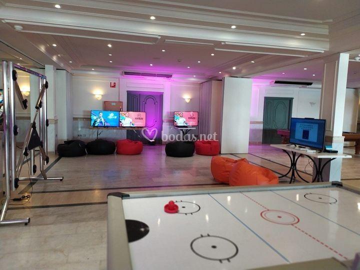 Juegos, videoconsolas bodas