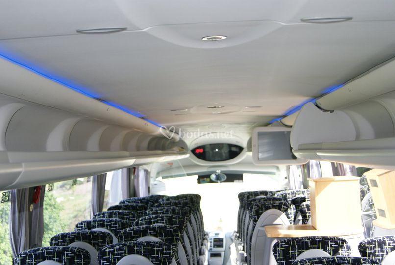 Interior para 55 personas
