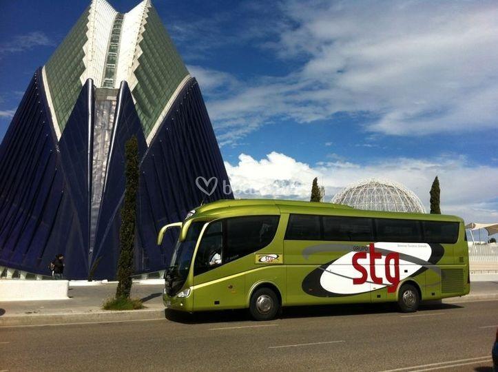 Bus para 55 pasajeros