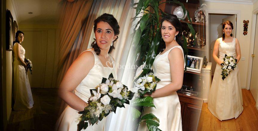 La novia en casa