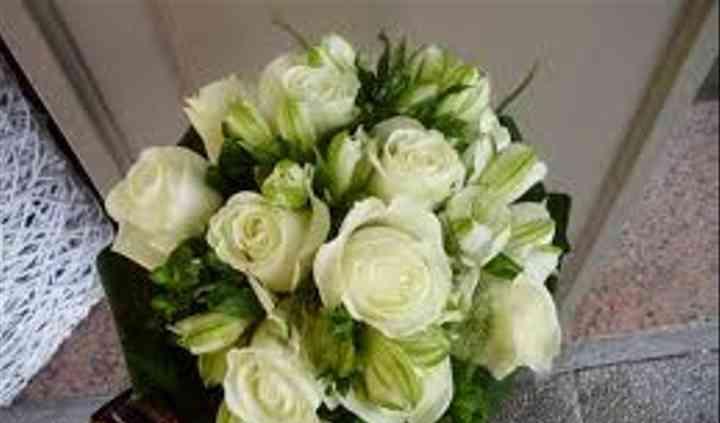 Rosas con alstroemeria
