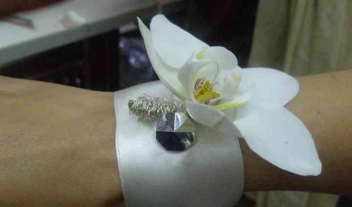 Pulsera de orquídea