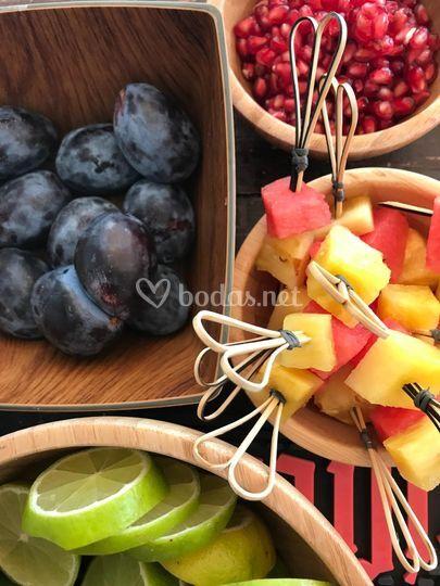 Fruta, mucha fruta