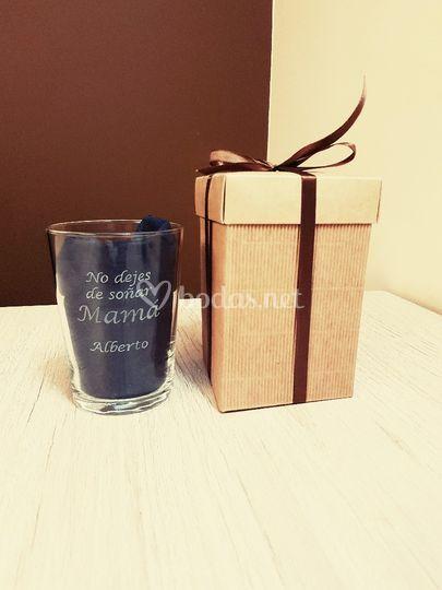 Vasos de sidra personalizados