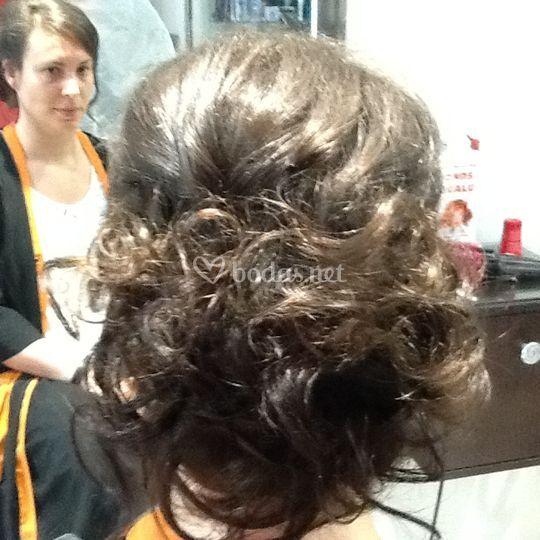 Después peinado