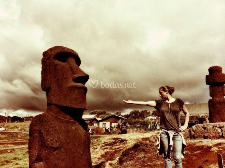 Isla de pascua de Noaoa Bidaiak