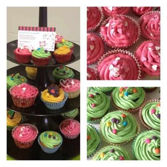Algunos de nuestros cupcakes