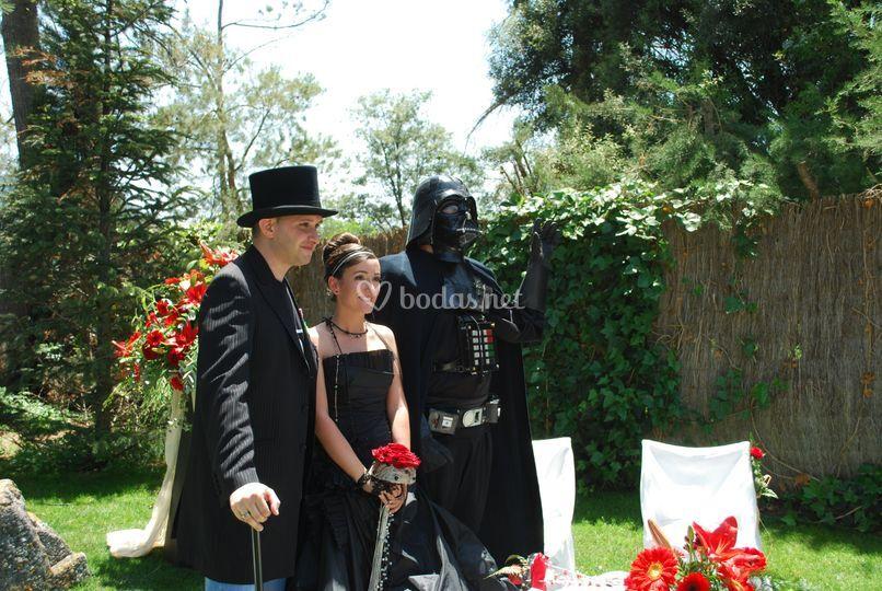 Oficiante juez de Boda y Maestro de ceremonias