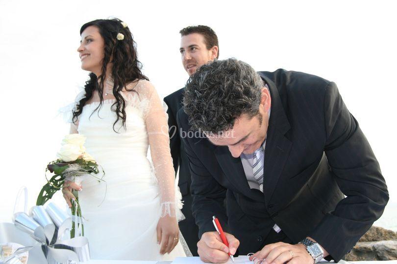 Oficiante juez boda civil