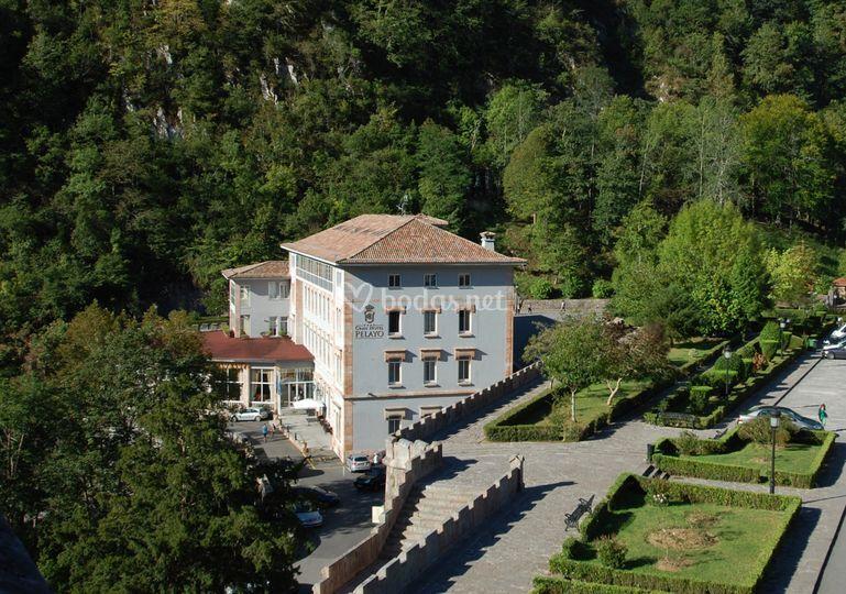 Desde la Basilica de Covadonga