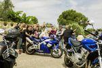 Motos en la boda