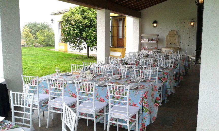 Mesas porche