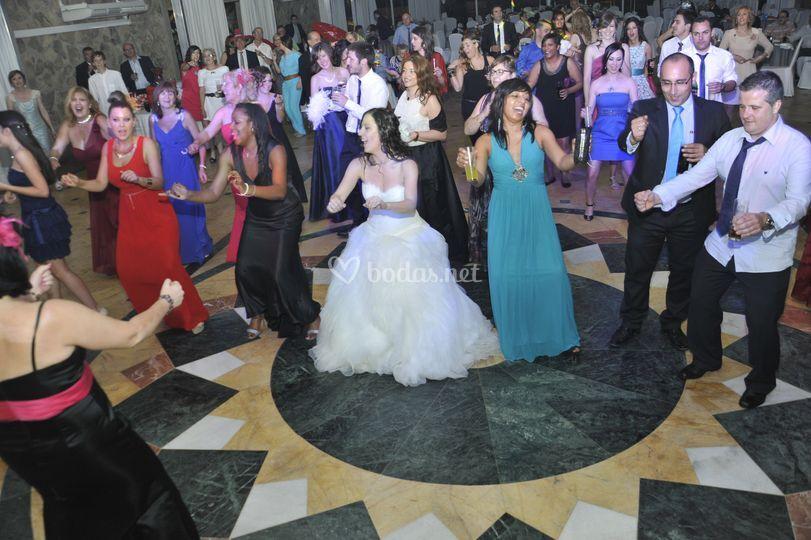 Bailes con el publico