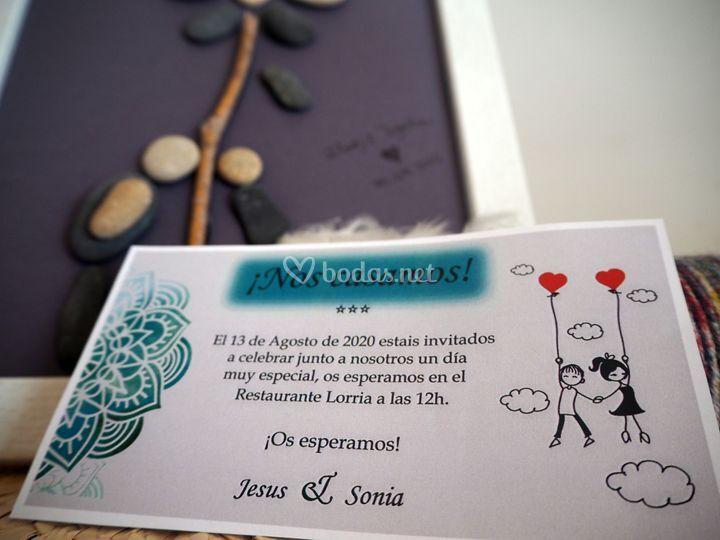 Invitación Love is in the air