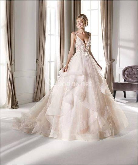 Vestido novia votos