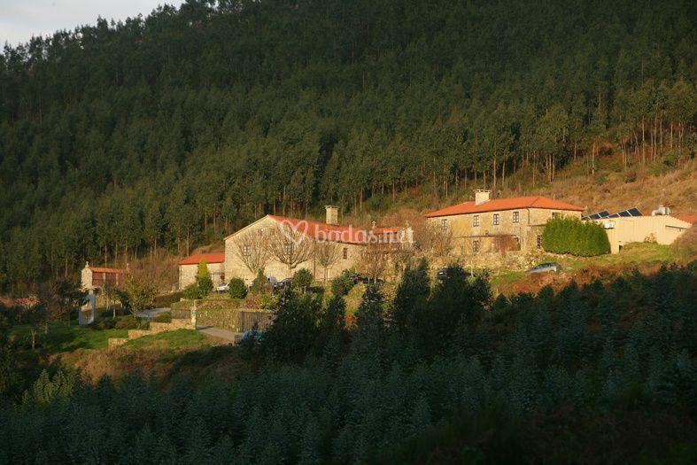 Vista principal de Casa Grande do Bachao