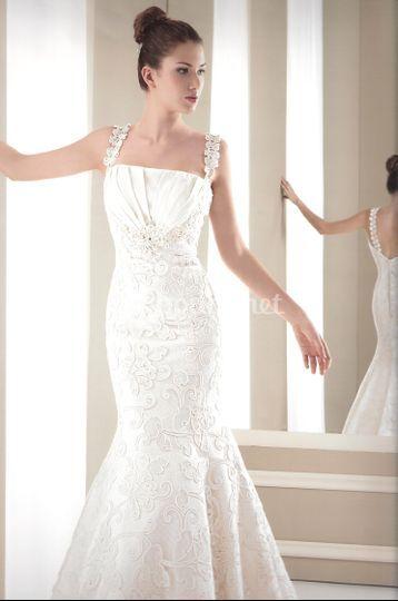 vestido low cost de celia ramirez arte en novias | foto 31