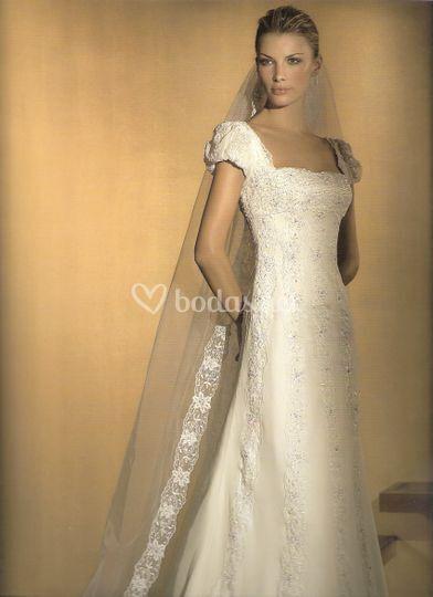 vestido low cost de celia ramirez arte en novias | foto 36