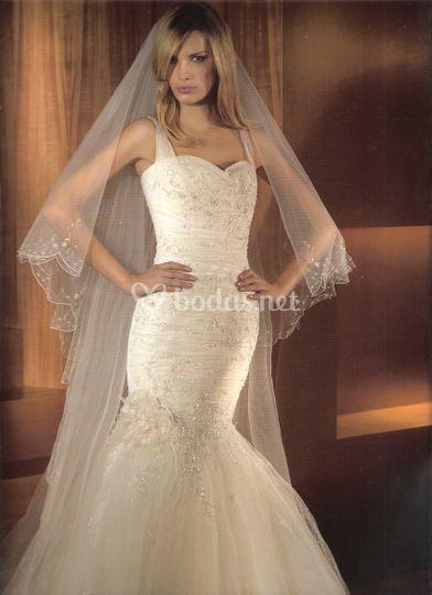 vestido low cost de celia ramirez arte en novias | foto 38