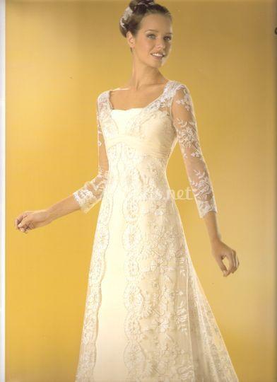 vestido low cost de celia ramirez arte en novias | foto 33