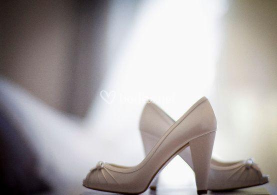 Tacones para la novia