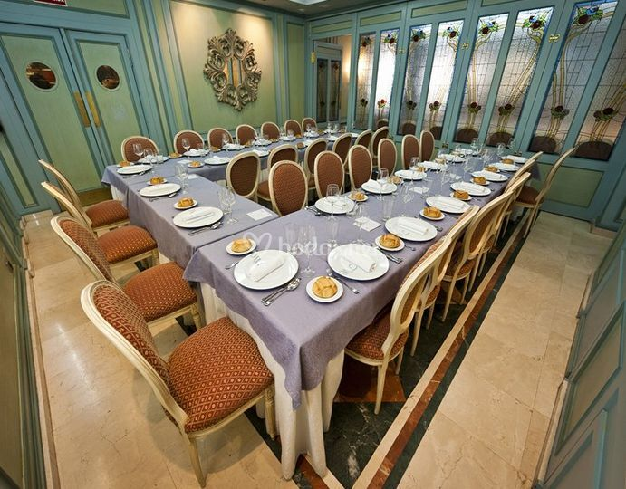 Salones para celebraciones privadas