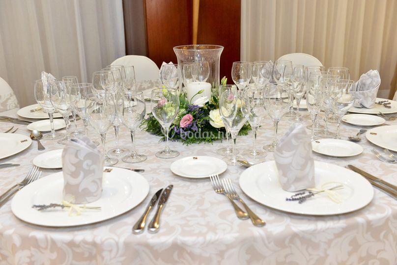 Mesa Banquete Boda