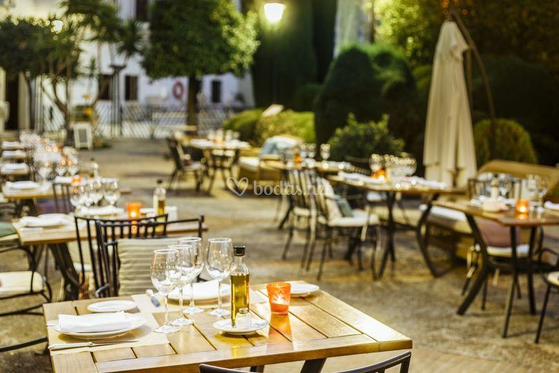 Restaurante de verano