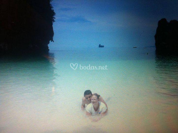Rocío y Raúl en Tailandia