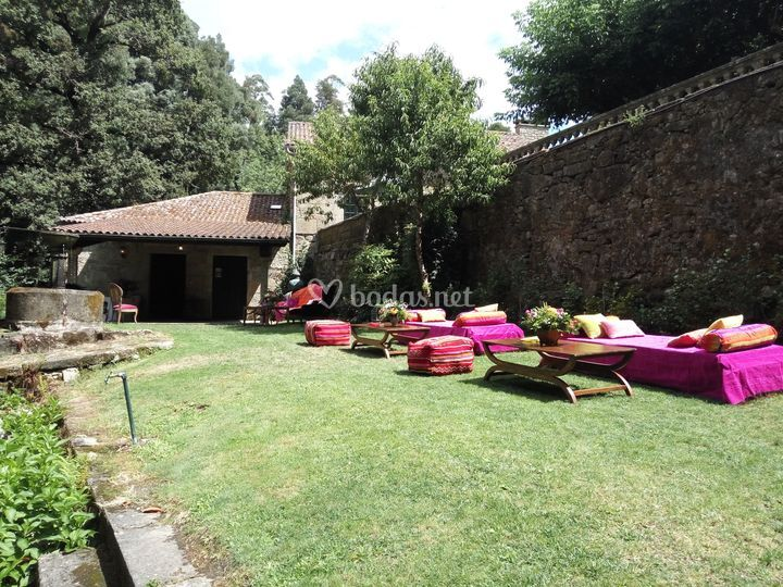 Pazo do faramello - Chill out jardin ...