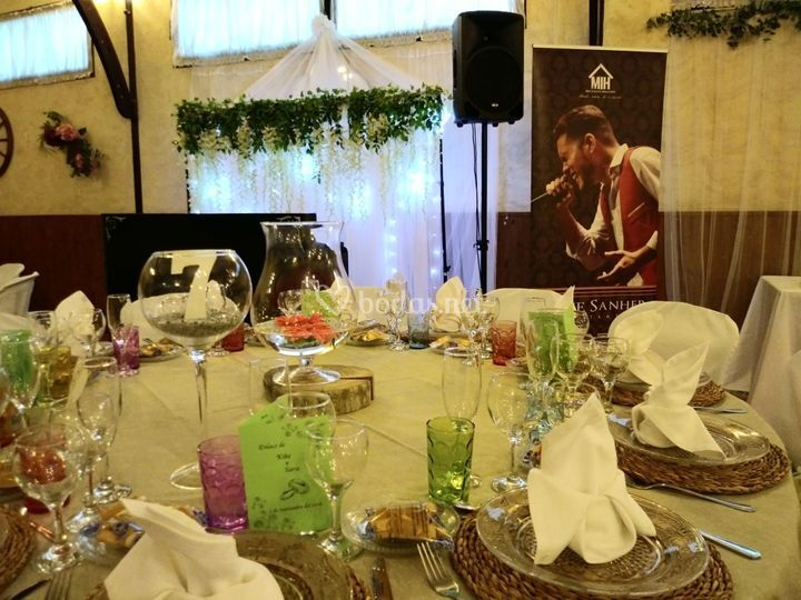 Banquete en Rincón de Bonilla