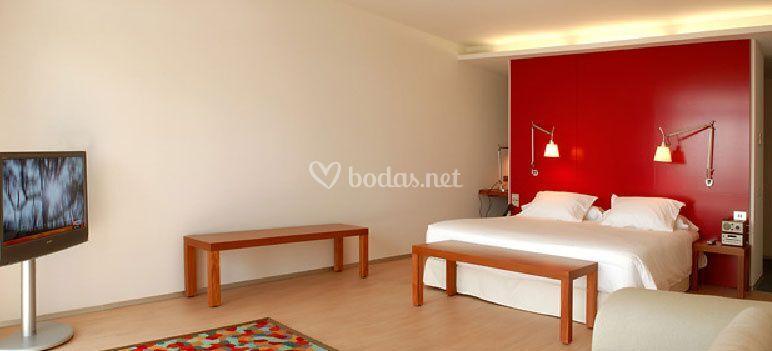Amplios dormitorios