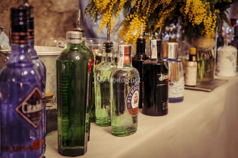 Barra Gin&Tonic Boda