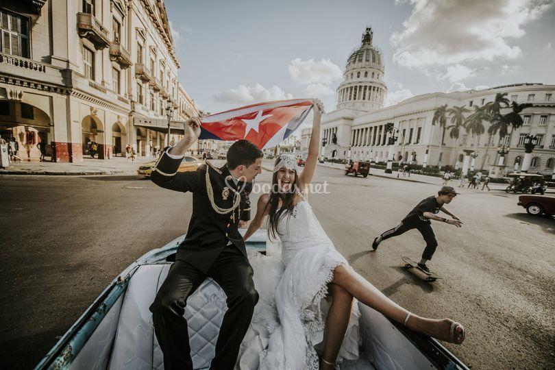 Boda Cuba desde Galicia