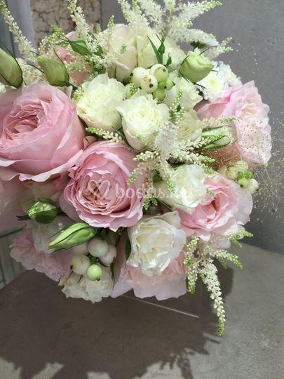 Ramo fresco rosas Inglesas