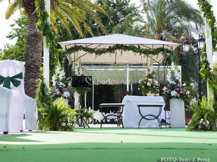 Altar para boda civil