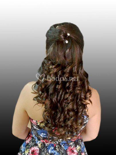 Peinado simple