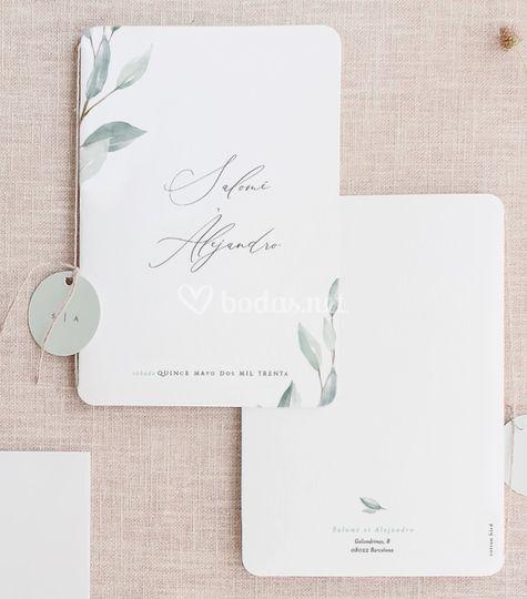 Invitación de boda - birhuega
