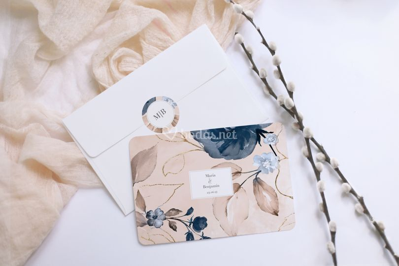 Invitación de boda - julia