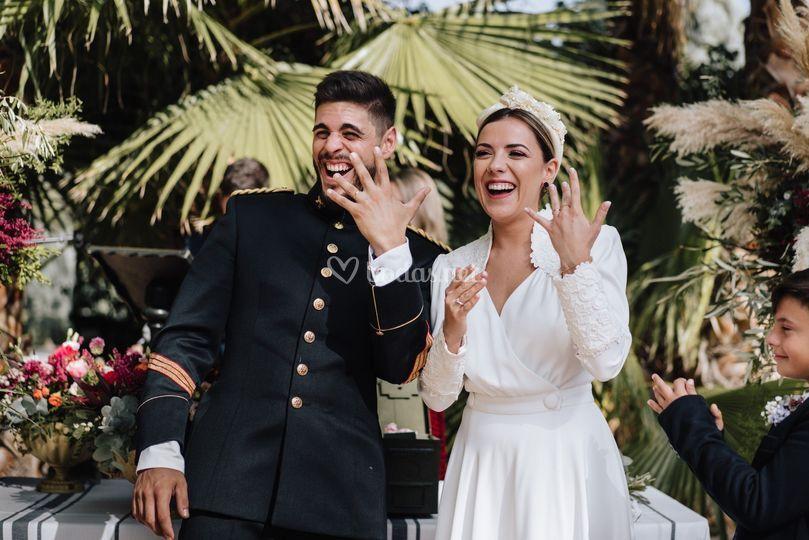 La boda de Ari y Guille