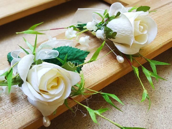 Solapa Floral Novio Johanna