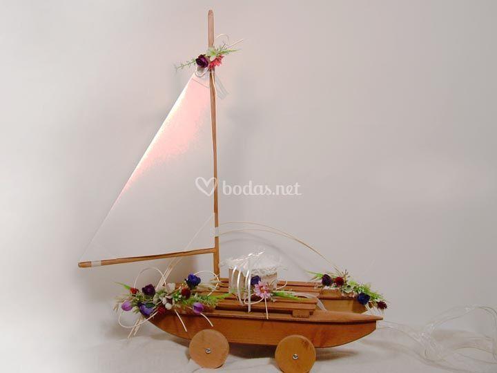 Catamaran para anillos de boda