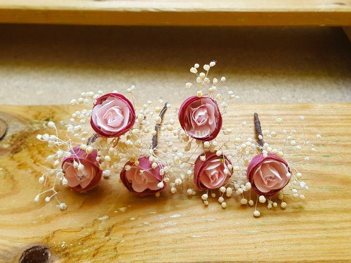 Pins para el Pelo Paniculata