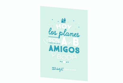 Planes A y B Mr Wonderful